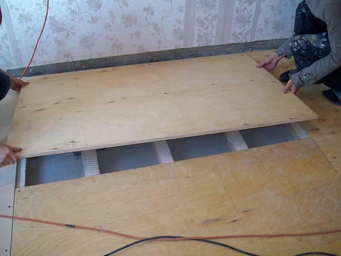 Как сделать водяной теплый пол в деревянном доме