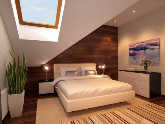 Потолок мансарды: материалы, технологии установки, стилевое наполнение пространства