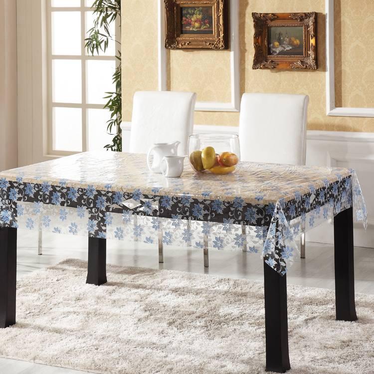 Скатерти на стол: 265+(фото) силиконовых, прозрачных, ажурных