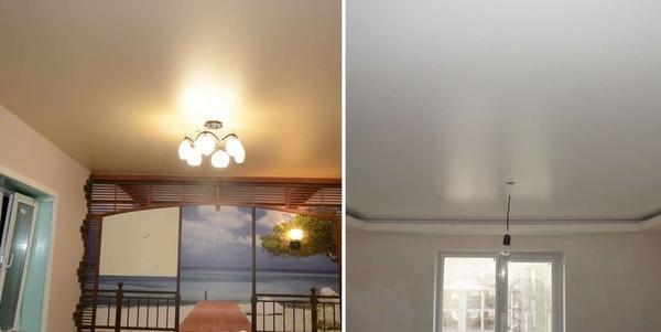 Какие натяжные потолки лучше: глянцевые, матовые или сатиновые? 49 фото чем отличается матовый от сатинового, отличия материалов, отзывы