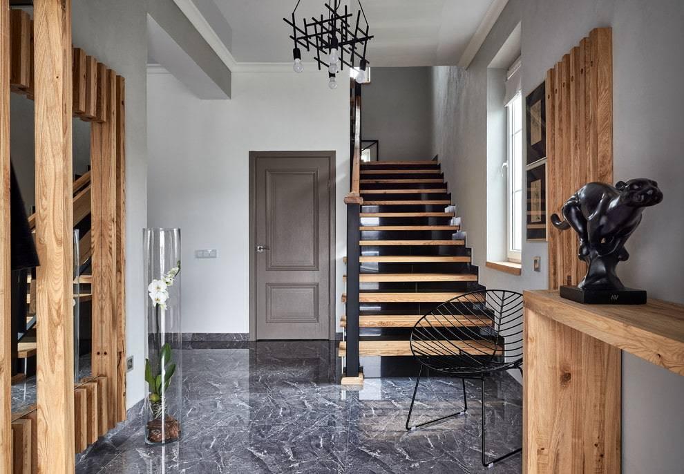 Прихожая (95 фото): оформление интерьера квадратного коридора в квартире и частном доме, красивые идеи дизайн-проекта 2021