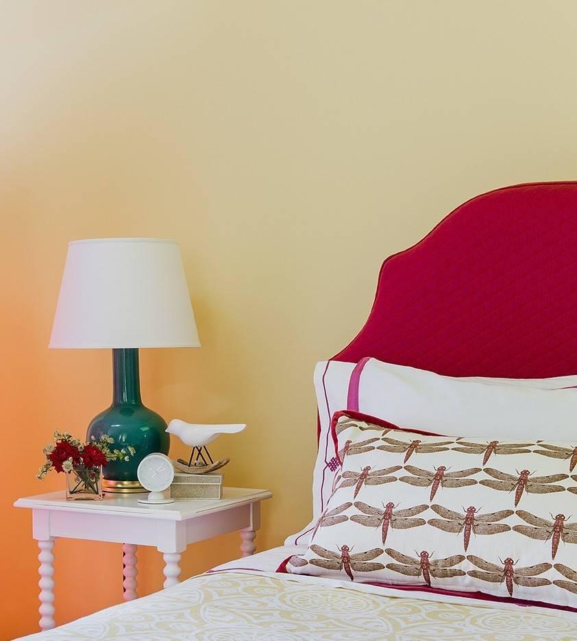 Как красиво покрасить стены своими руками: градиентная покраска с переходом и в полоску - пошагово (фото, видео)
