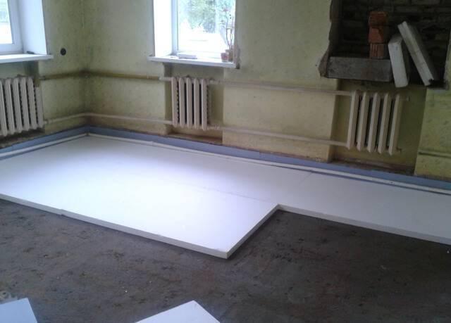 Теплый пол под ламинат на бетонный пол - какой выбрать и как уложить