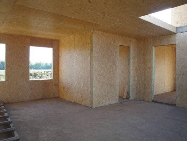 Способы наружной отделки дома, выполненного из сип панелей