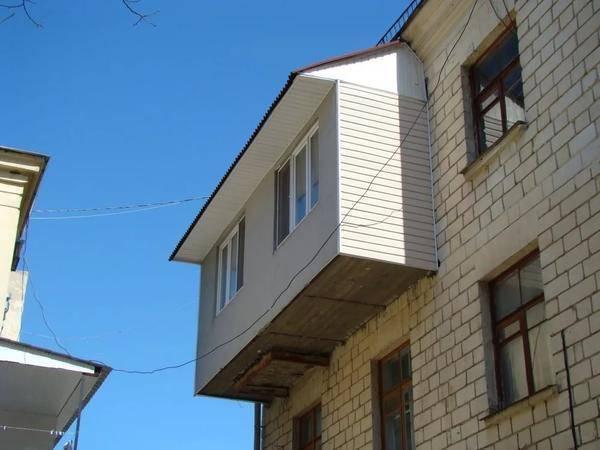 Утепление крыши балкона на последнем этаже своими руками
