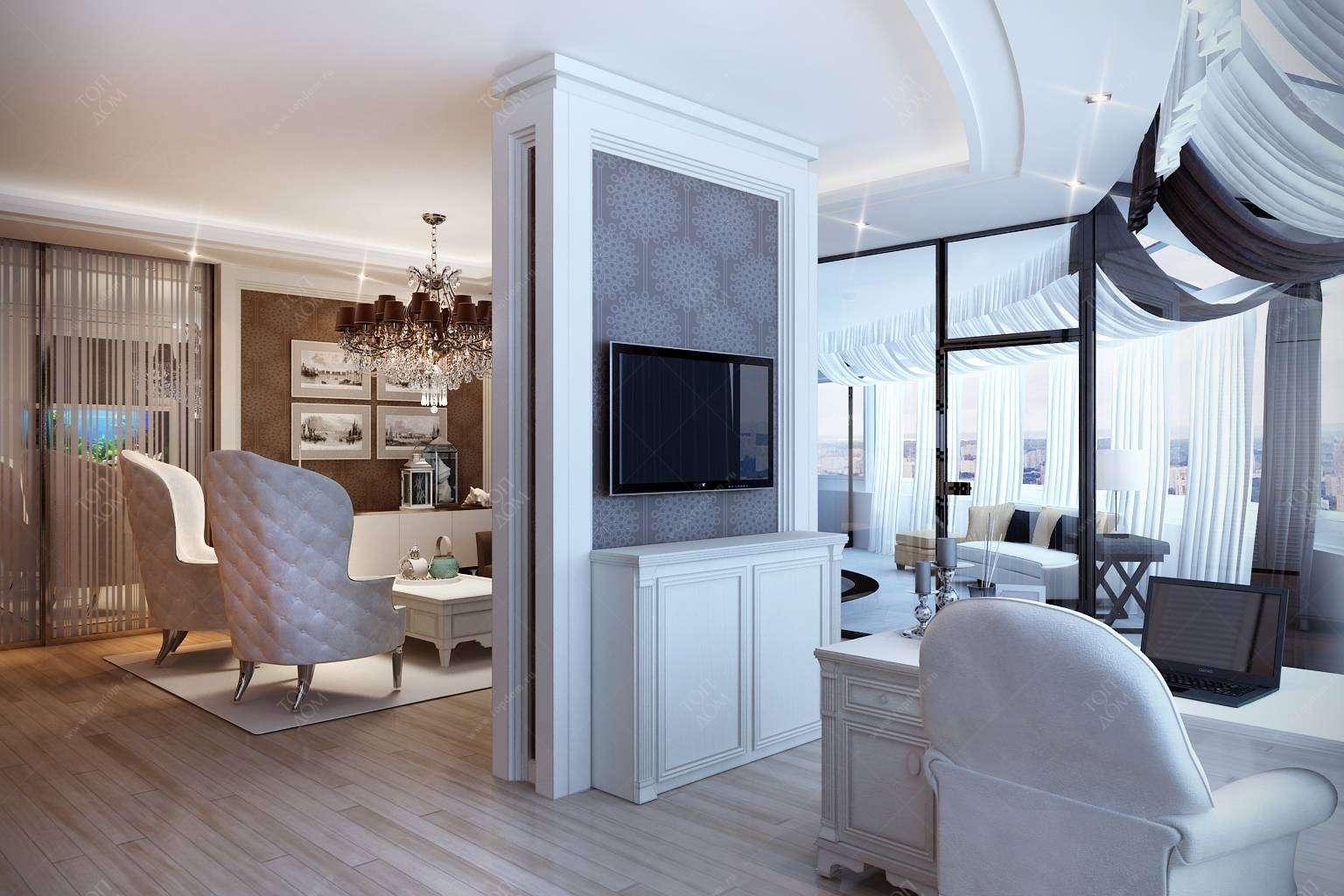 Классический дизайн интерьера квартир: правила и особенности оформления