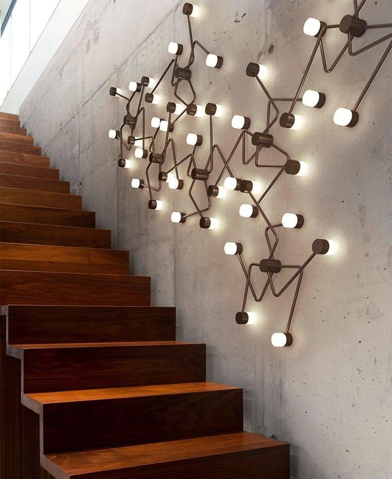 Светильники на стену – фото лучших идей и красивого дизайна современных светильников