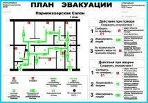 Как составить и применять план эвакуации при пожаре