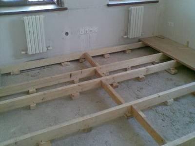 Как положить плитку на деревянный пол: монтажные инструкции