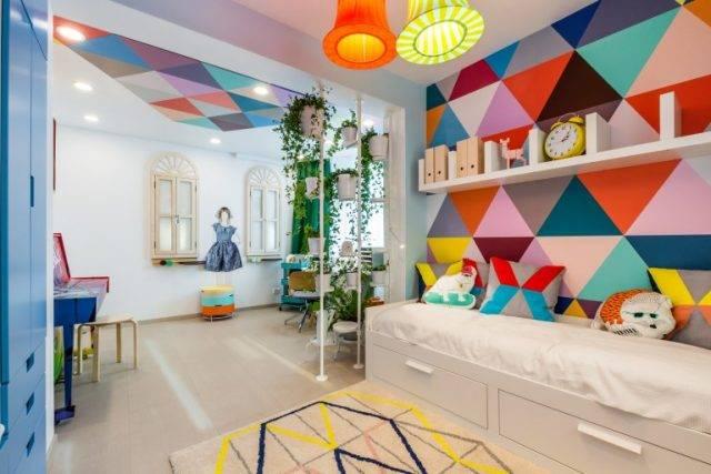 Цвет для детской комнаты девочки и мальчика: оптимальные решения и советы по оформлению