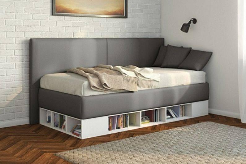Односпальная кровать - 125 фото оптимальных вариантов мебели
