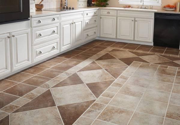 Пол на кухне: из чего сделать и как оформить своими руками кухонное напольное покрытие (155 фото)