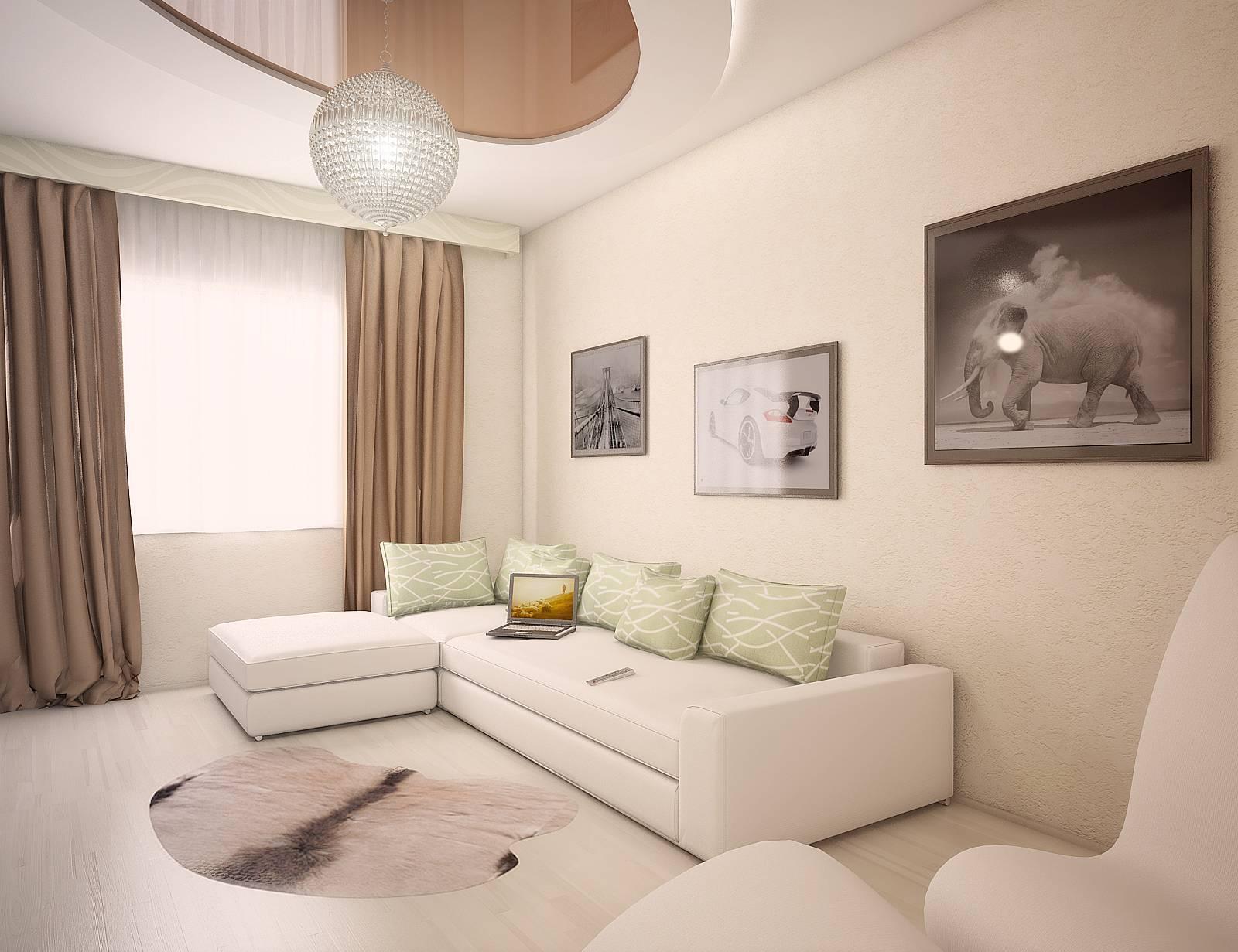 Интерьер однокомнатной квартиры 35 кв.м в фотографиях на любой вкус