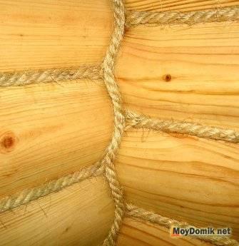 Владельцу деревянного дома: выбор герметика для заделки швов