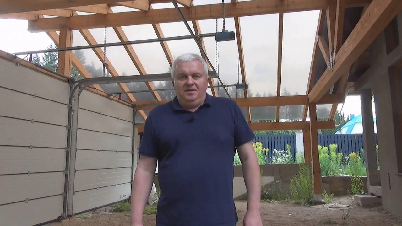Крыша из поликарбоната своими руками: пошаговая фото и видео инструкция