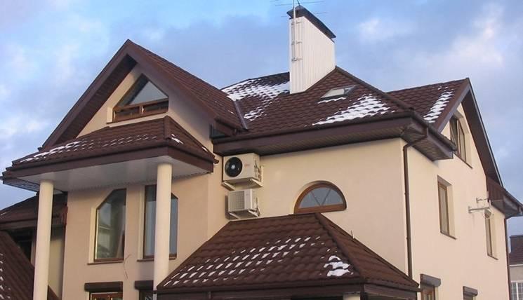 Подшивка софитом из профнастила для односкатной крыши, фото и видео примеры