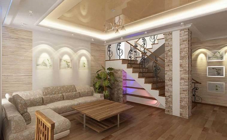 Интерьер гостиной в частном доме (107 фото): дизайн зала в загородном деревянном доме, комнаты в стиле лофт и прованс