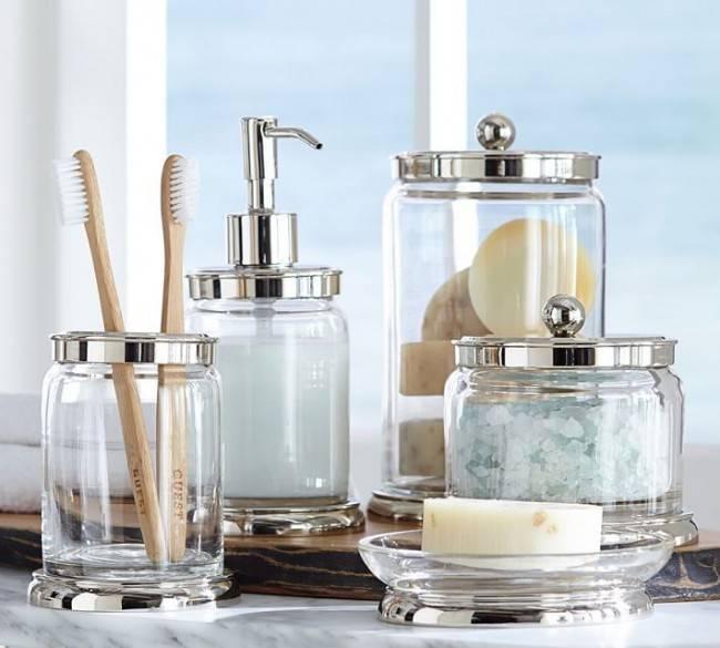 Аксессуары для ванной – самые необходимые популярные и красивые элементы декора (75 фото)