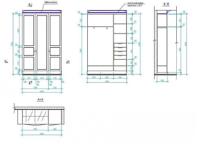 Этапы изготовления шкафа из мебельных щитов своими руками, обо всем в деталях
