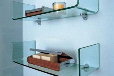 Крепеж для полок к стене: все варианты как можно закрепить стеклянную или деревянную полку
