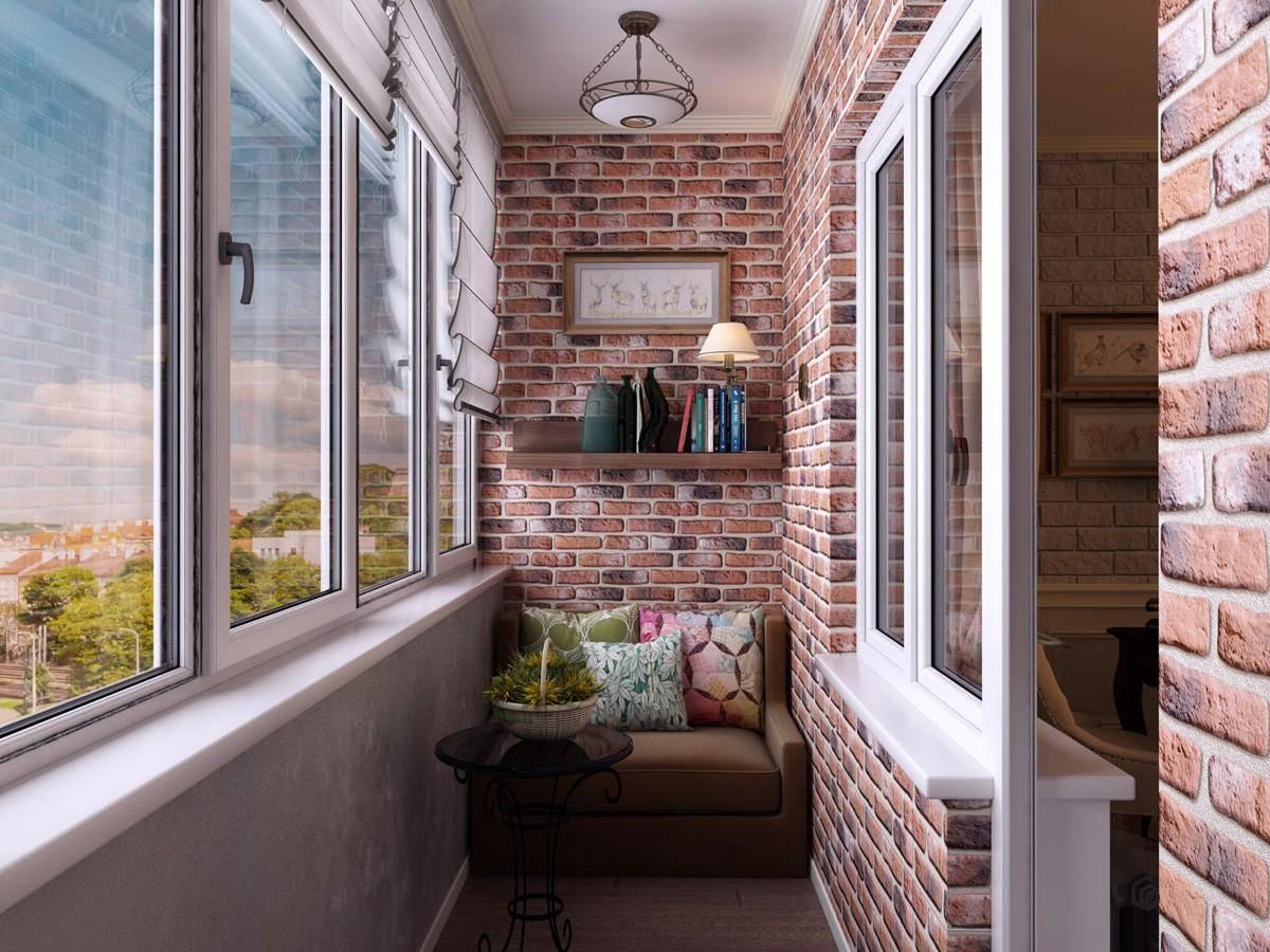 Современные решения в отделке балкона камнем - идеи дизайна и этапы монтажа