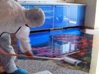 Общая технология нанесения наливных полов: что нужно знать при работе с этим основанием?