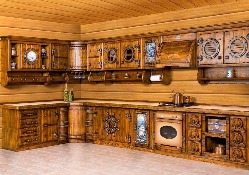 Назад в прошлое: как декорировать интерьер кухни под старину | всёокухне.ру
