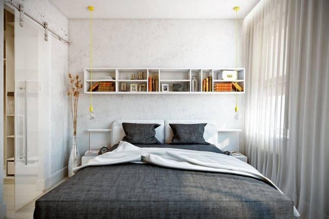 Дизайн спальни 13 кв м с фото