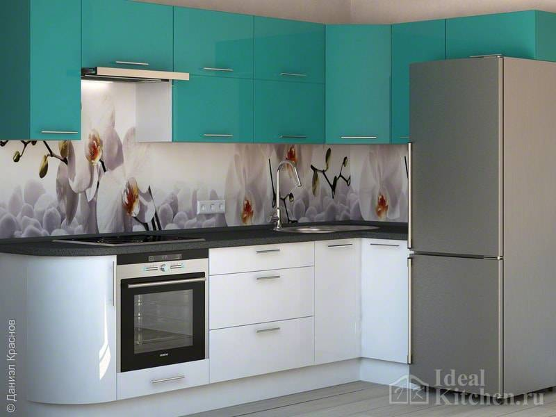 Кухонный гарнитур для маленькой кухни: как сделать правильный выбор (75 реальных фото)