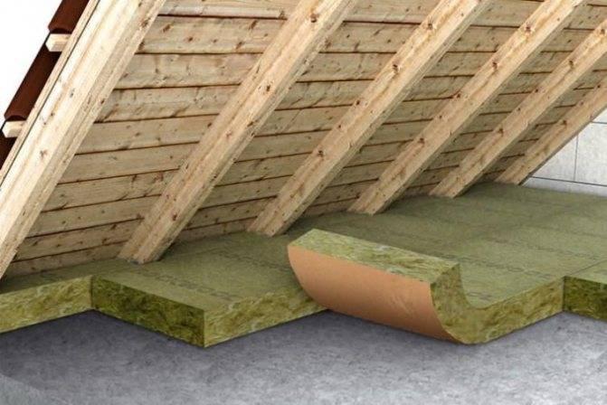 Как правильно утеплить потолок в бане и чем. видео