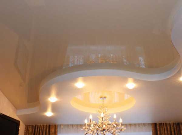Технология монтажа светящегося натяжного потолка со светодиодами