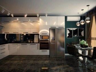 Стильный интерьер современной кухни | интересные идеи дизайна на фото