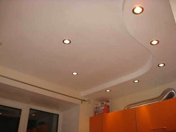 Потолок из гипсокартона (86 фото): идеи простого дизайна и процесса монтажа