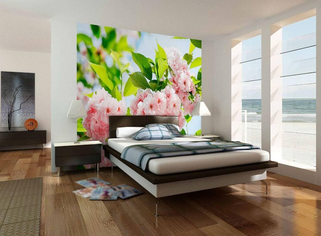 Обои в интерьере спальни — 100 фото реальных примеров и новинок дизайна. обзор вариантов из каталога 2020 года!