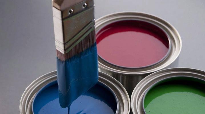Краска эмаль: 115 фото особенностей применения универсального покрытия