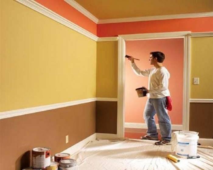 Как покрасить стены в квартире?