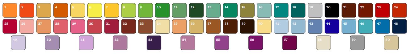 Палитра натяжных потолков — как сочетать цвет полотен для каждого помещения в доме?