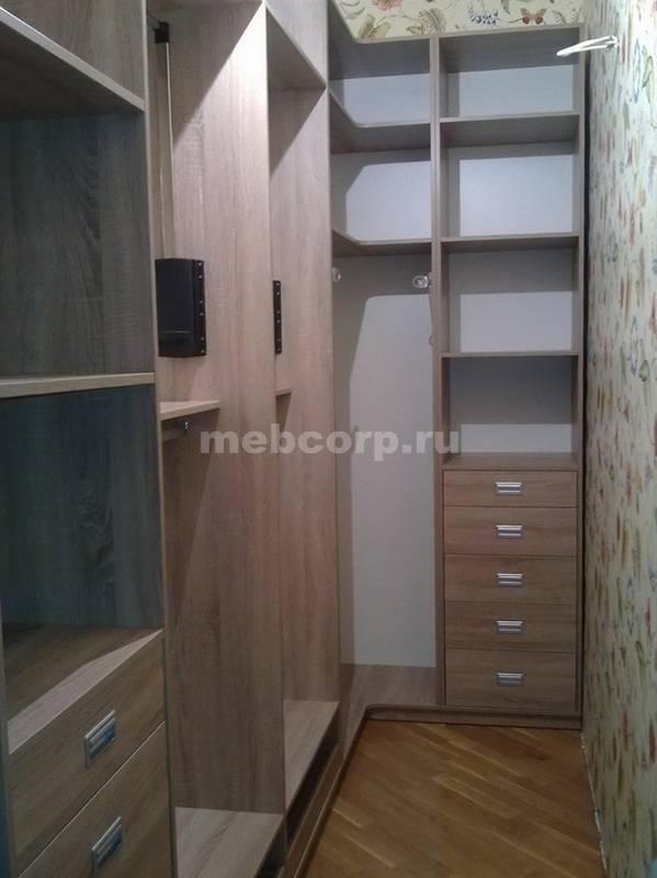 Гардеробные комнаты: проекты и фото, дизайн маленькой гардеробной