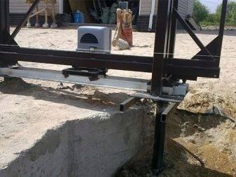 Фундамент под откатные ворота: поэтапная технология изготовления