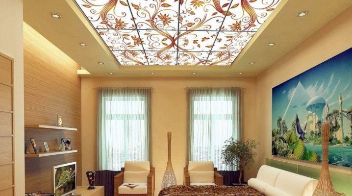 Потолок с подсветкой в дизайне интерьера