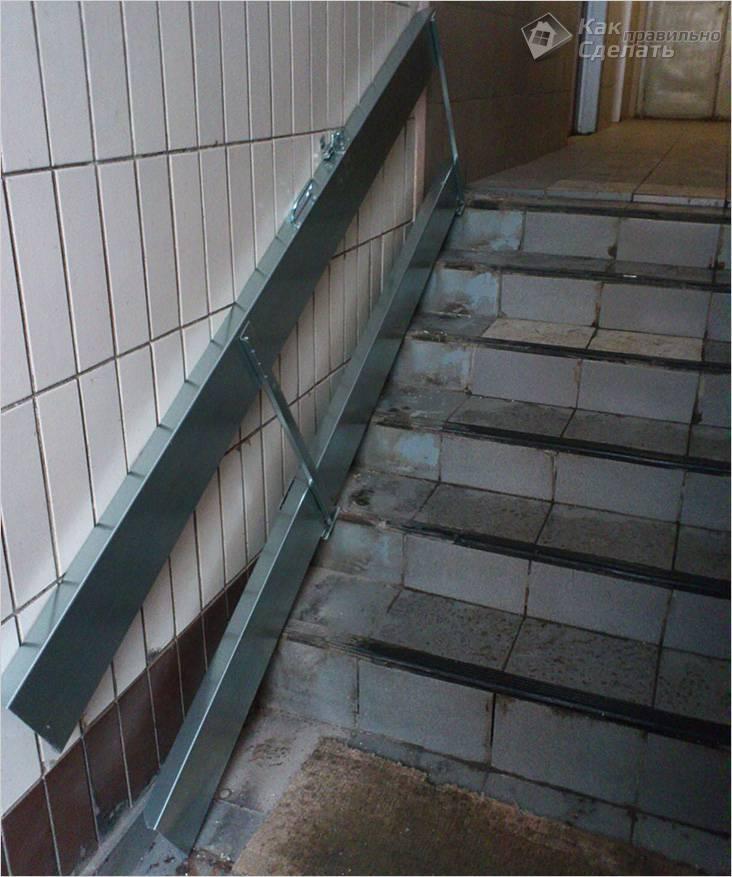 Как сделать пандус из бетона