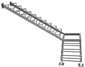 Лестницы из металла своими руками — пошаговая инструкция по монтажу с чертежами и расчетами!