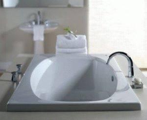 Смеситель - врезной, встраиваемый для акриловой ванны и установка на борт
