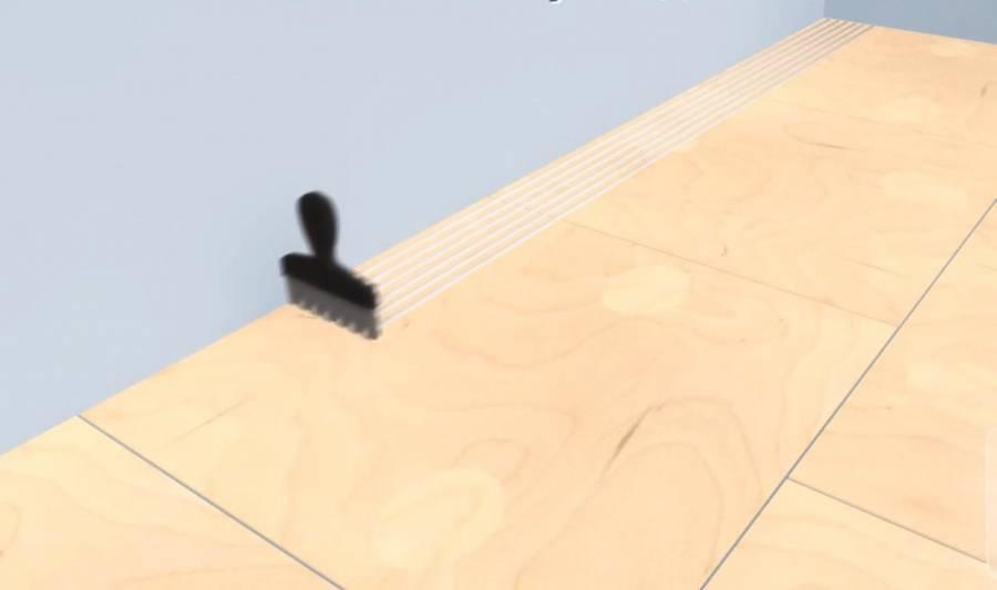 Как класть паркет на бетонный пол: укладка на стяжку, все варианты