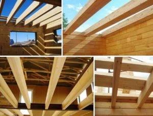 Деревянные балки перекрытия: размеры и расчет