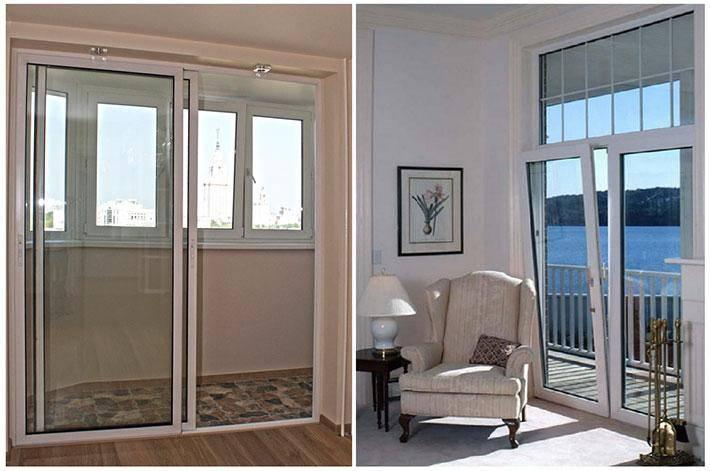 Французские двери на балкон или лоджию: раздвижные, гармошкой, монтаж с фото и видео
