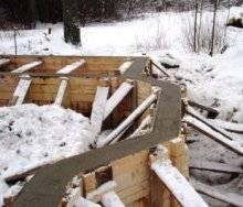 Время прогрева бетона в зимнее время: снип