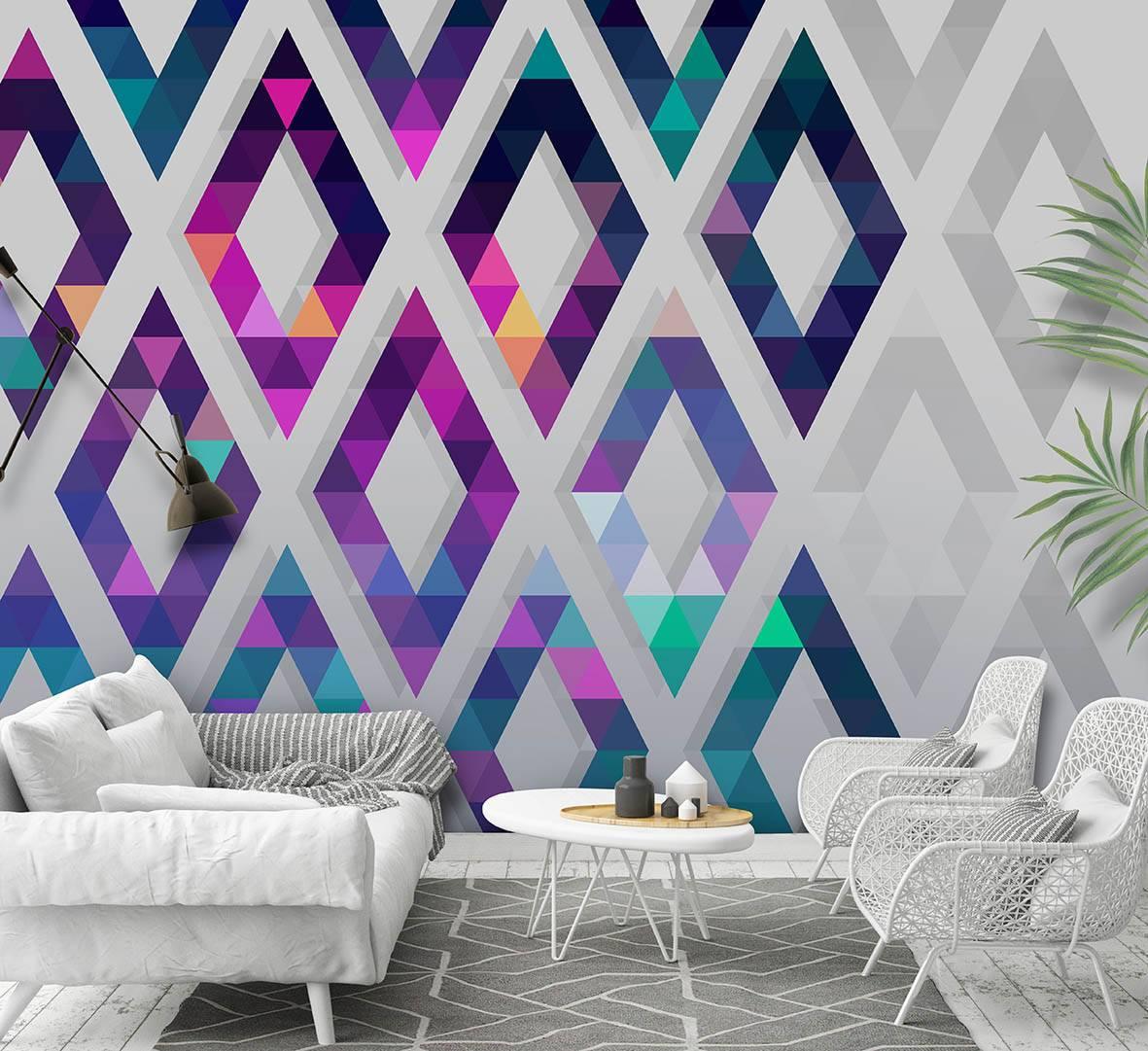 Обои с орнаментом: особенности, виды узоров, оформление комнат