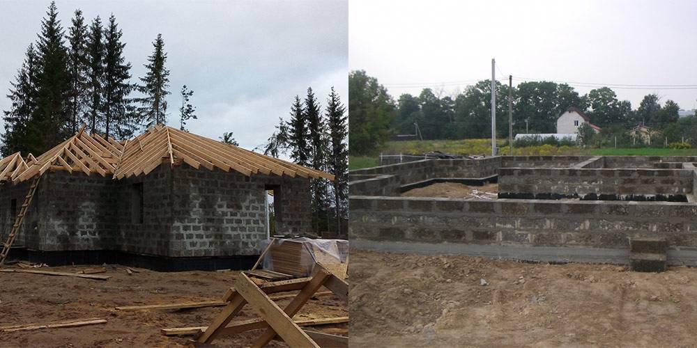 Дом из арболита (арболитовых блоков) — строительство своими руками, пошаговая инструкция