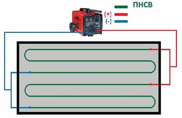 Прогрев бетона электродами схема подключения - морской флот